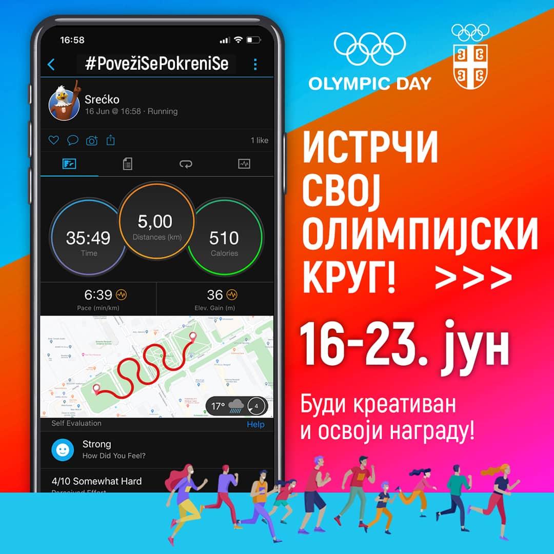 Tri, četiri, SAD! 🏃🏻♂️🏃🏻♀️ Od danas pa sve do 23. juna, dana kada Međunarodni olimpijski komitet slavi rođendan - istrčavamo svoj olimpijski krug! Priključite se Olimpijskoj trci! Sve informacije možete pronaći na https://t.co/qqOhsg6WZr #OlympicDay #StayStrong https://t.co/bGScBkMD9N