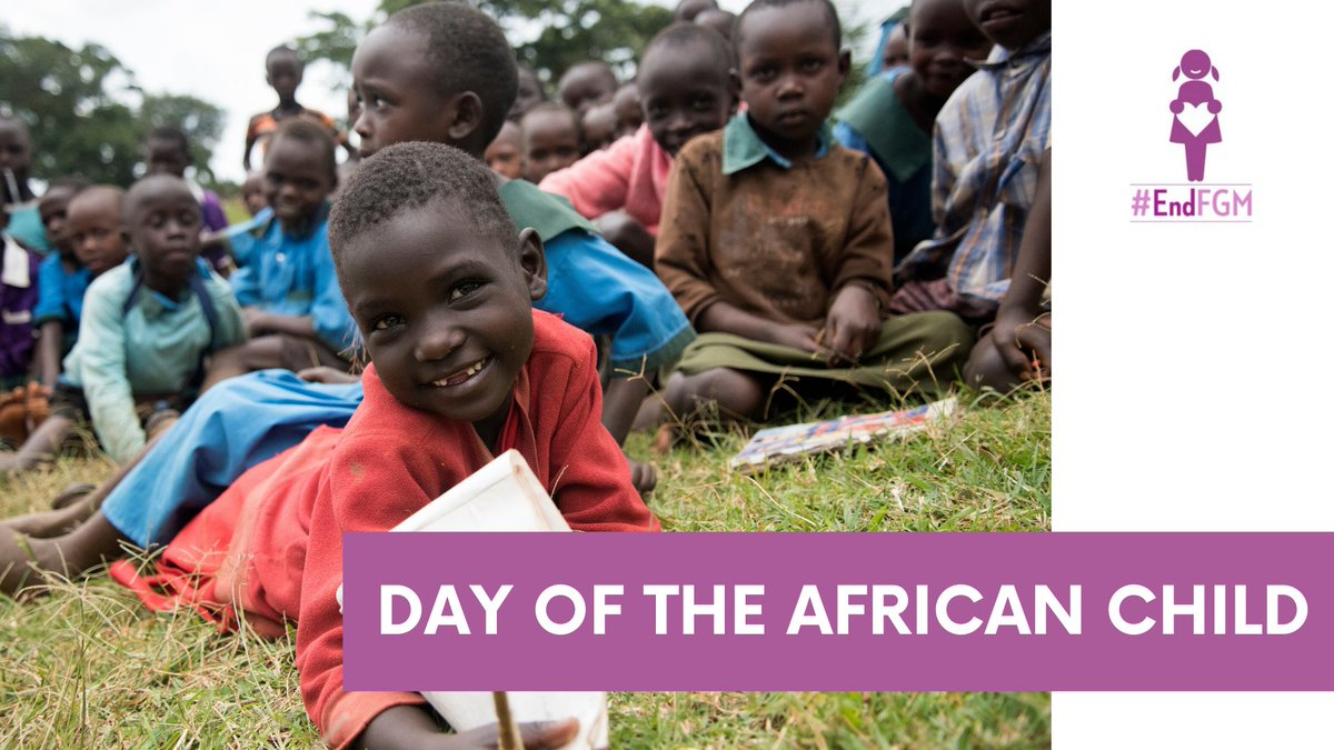 Today, as we commemorate the Day of The African Child, the @UNFPA - @UNICEF Joint Programme to Eliminate FGM renews the commitment made to protecting the rights of girls & women to live free from violence and discrimination. #EndFGM  #DAC2020 #AnAfricaFitForMe #ChildOfAfrica https://t.co/e3pJJmnFcs