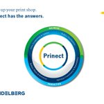Image for the Tweet beginning: Prinect enables you to achieve