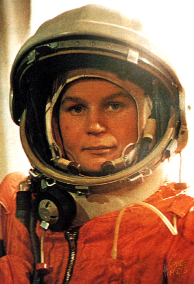 57 years ago today, this woman made history.  Valentine Tereshkova. The first woman to fly to space.   🚀🚀🚀