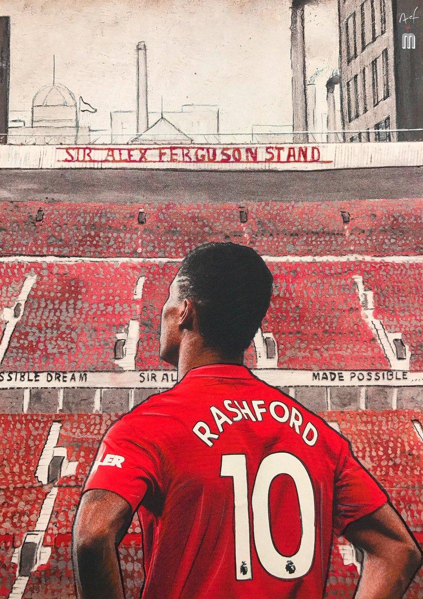 Art Of Football On Twitter Take A Bow Marcus Rashford