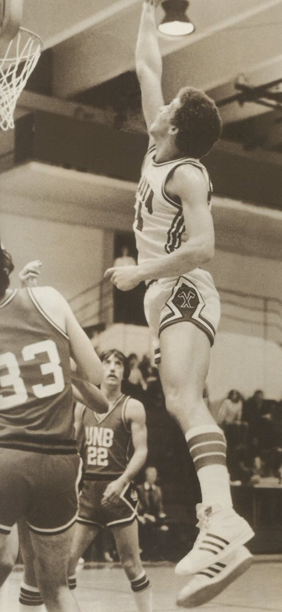 Congrats @acadia_alumni former @acadiabball #Axeman Ted Upshaw - the newest inductee of the @NSSHF . . He still holds the Acadia record for the most regular-season pts (1,563) & FG (664). 1981 AUAA MVP, 3-time All-Star, 2-time All-Cnd, & led CIAU in scoring & rebounding in '81 https://t.co/yP3QXyAWJ1 https://t.co/JI1REnX3va