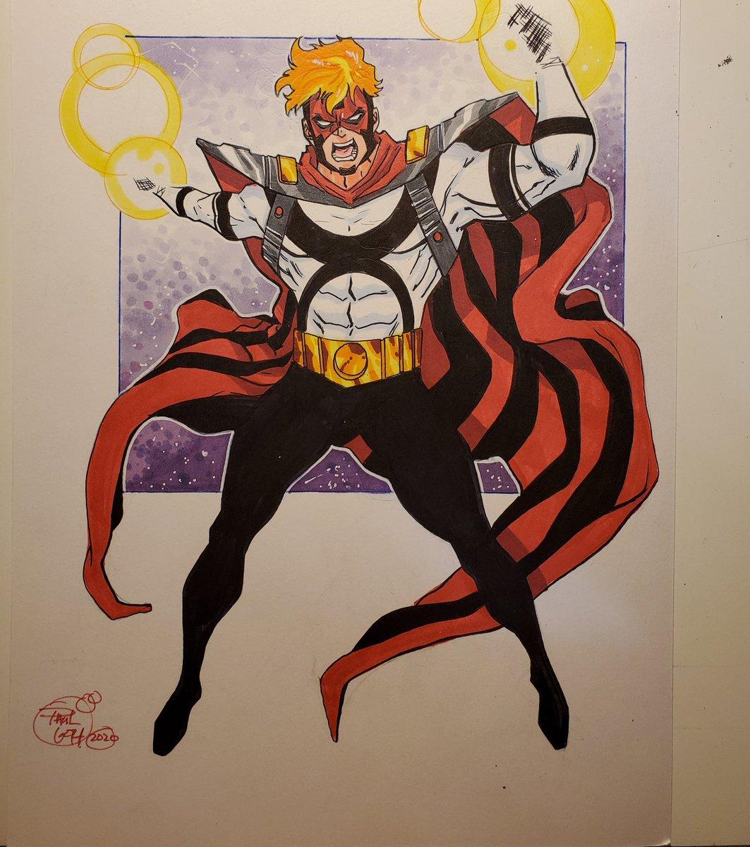 9x12 Doctor Zero commission done! #epiccomics #doctorzero
