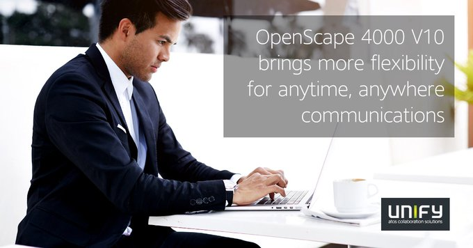 With its high availability and performance, OpenScape 4000 addresses opportunities for...