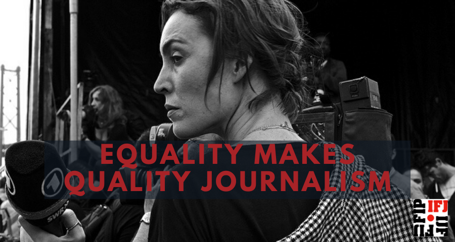 #NEW #SURVEY Are you a #woman #journalist?👩🏾👩🏽🦱👱♀️👩🏿🦳👩🏻🦰  Take part in the IFJ survey to measure the impact of #Covid_19 on your daily routine and help us and our Gender Council strengthen our strategy to support women in the news 🎥 .  👉🏾 https://t.co/7KRq8GvfBS https://t.co/HuKXqu4iRV