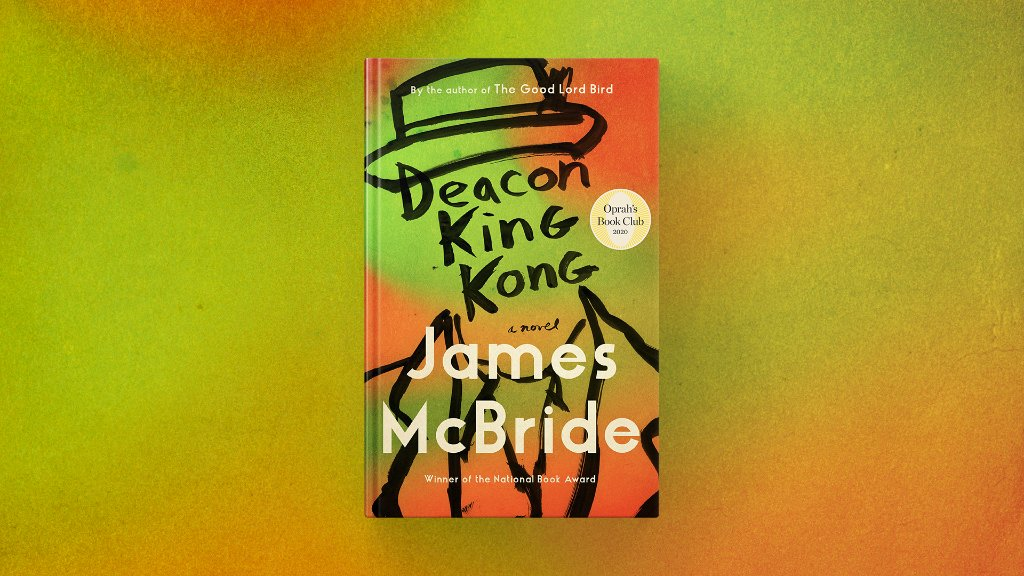 The new @oprahsbookclub pick is Deacon King Kong by James McBride. This soulful novel is a heartfelt meditation on grief, love and community, set in a Brooklyn housing project in the '60s. apple.co/OBC