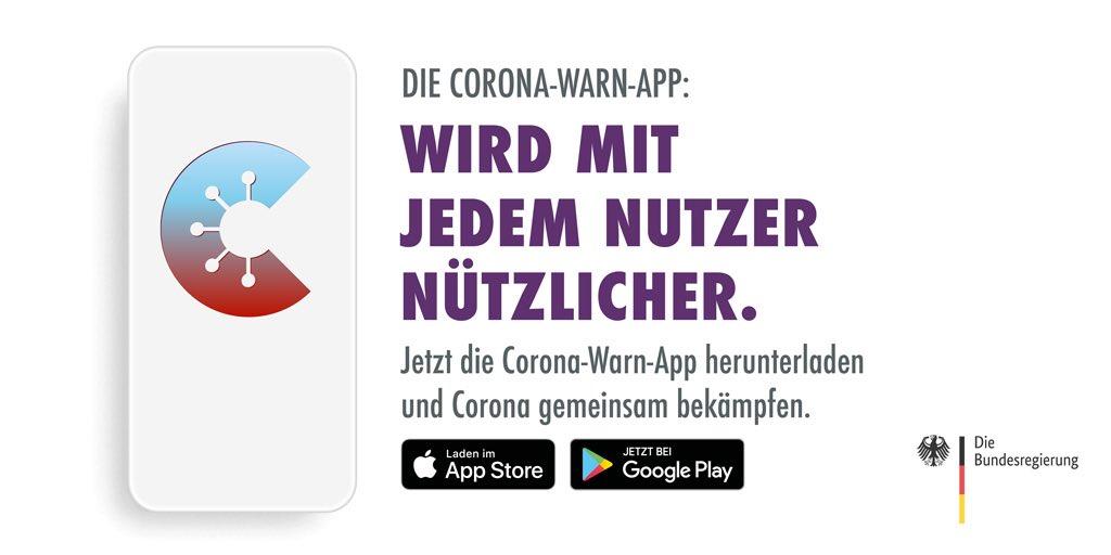 #CoronaWarnApp