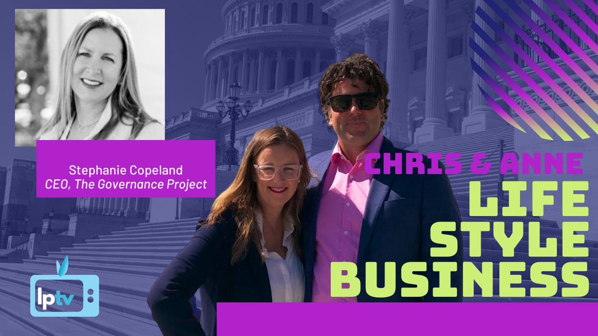 We're LIVE in 30 min w. Life Style Business on #LPTV.   Guest today @scopela1 Partner @4PointsFunding, CEO Governance Project, @Ben_Colorado @StartupColorado on inclusive development that focuses on people who have been locked out of the economy.  https://t.co/0CbDq1ZFxm https://t.co/MbBX0ARsQV