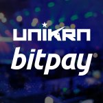 Image for the Tweet beginning: We're teaming up with @BitPay