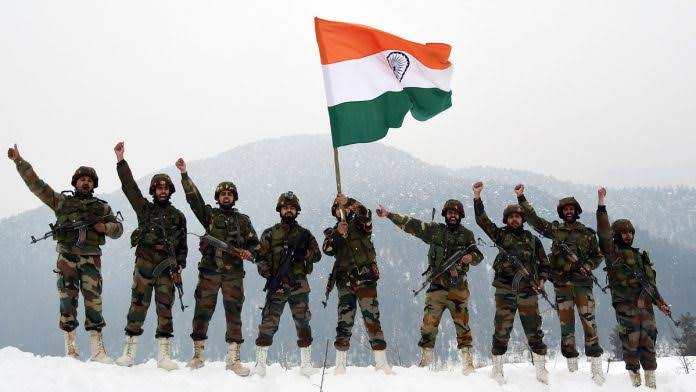 "INDIAN ARMY FAN'S on Twitter: ""Bharat Mata Ki Jai 💪 Jai Hind #INDIANARMY  #IndiaStandWithArmyAndModi #GalwanValley… """