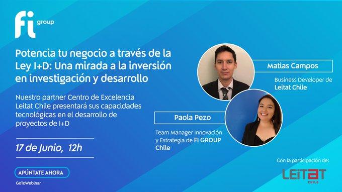 ⏰👀Aún no te has inscrito al  de mañana a las 12h con nuestro partner _CHILE que presentar....