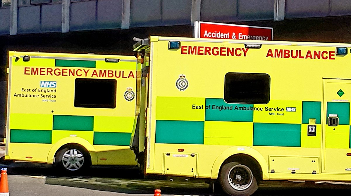 Ambulance service colleagues, You never need to apologise for pre-alerting an unwell child who then gets better on the journey and walks into resus smiling 😀. We are as pleased as you are that you have already made them better! @EastEnglandAmb @CUH_NHS #PaedsRocks #OneTeam