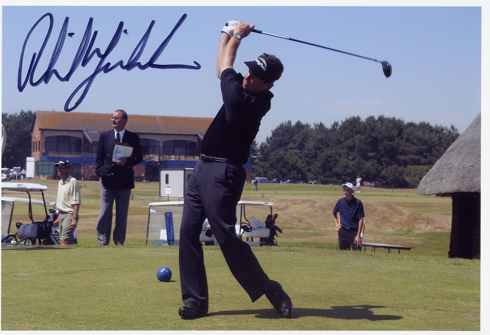 Happy 50th Birthday Pictured teeing off at Prince\s in 2003.