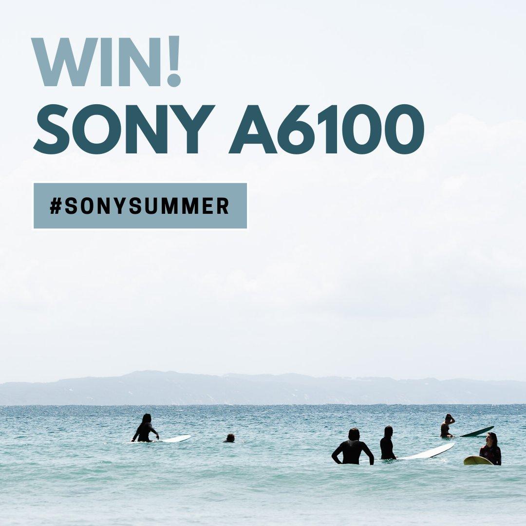 Plaats jouw mooiste#SonySummerfoto op Instagram en maak kans op eenSony A6100t.w.v. €900. Voor meer info en de voorwaarden, zie: https://t.co/hpOHH02knw https://t.co/d6DItPg7xC