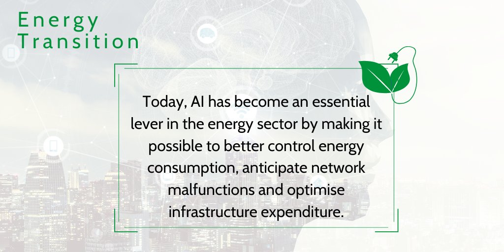 💻 At a time when it is urgent to optimize energy consumption and imperative to accelerate the energy transition, #IA appears as one of the means to meet these objectives. ⤵️  https://t.co/iymBKgfe2g https://t.co/kYbWgR8jMz