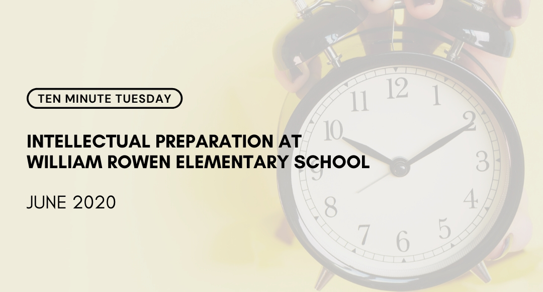 ➡️ https://t.co/bymIBTkkoC⬅️ In today's #10MinuteTuesday Dr. James Murray from Philadelphia's @rowenschool shares the story of how his K-5 school approaches inquiry-based learning, intellectual preparation and how #UbD supports their work. #edchat #10MT https://t.co/pLkZfgZOJC