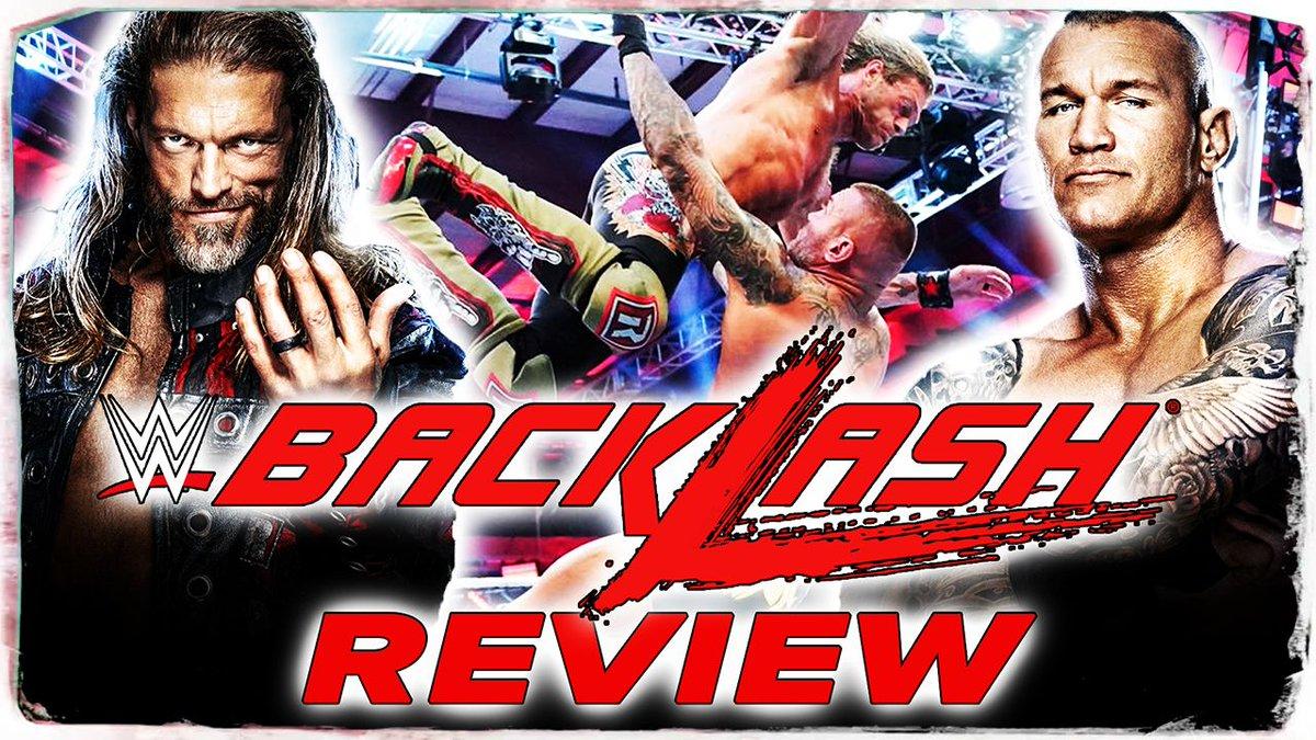 Die WWE bewarb das Match Edge vs. Randy Orton bei WWE Backlash als Greatest Match Ever. Konnte das Match dem Slogan gerecht werden und wie schaut es sonst mit Backlash aus? Erfahrt es hier in meiner Review zu #WWEBacklash2020   Hier geht's zum Video: https://youtu.be/-1u_kR0SO1gpic.twitter.com/36hi1dLD6t  by Paraflow