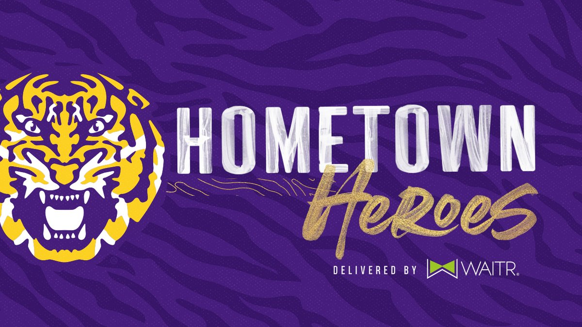 LSU is proud to honor the COVID-19 frontline heroes! Nominate your hero today:  https://t.co/9HuSRIbBEd https://t.co/HWGMUS7Pdj