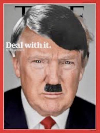 Over 4 million Germans died in WWII because they allowed a maniac named Hitler to take over their country.  How many Americans will die under the haphazard administration of the Orange maniac named Trump! #TrumpDeathToll100K  #BunkerBaby  #RampGate<br>http://pic.twitter.com/yw9CuYJN0F