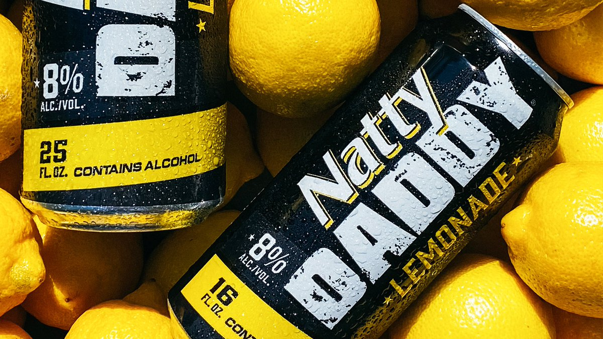 Daddy's here to take the wedge off. Introducing our new Natty Daddy Lemonade, upgrading from your side to main squeeze. #NattyDaddy https://t.co/J3bMxLpVBW