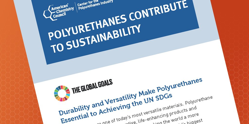 Much of our work leading up to UNEA-5 is focused on how we can continue to advance progress toward achieving the United Nation's Sustainable Development Goals by 2030. Learn more about how #polyurethanes can help that effort. https://t.co/3tNU2wsDeK https://t.co/e5eoisBnUq