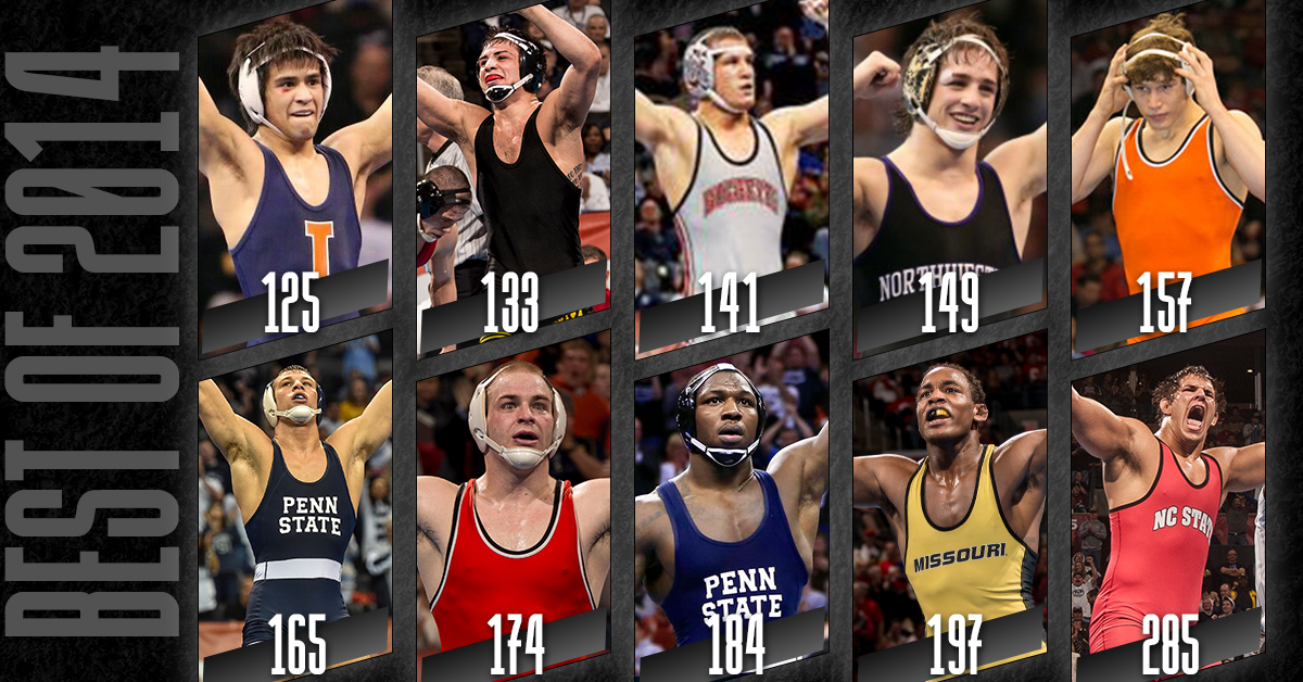 Who was the best wrestler of the 2014 #NCAAWrestling Championship? https://t.co/9Dviq4TWMx