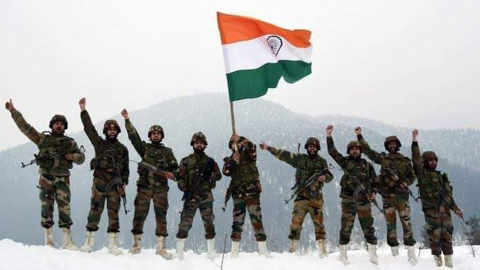 Salute to the Brave Hearts #IndianArmy