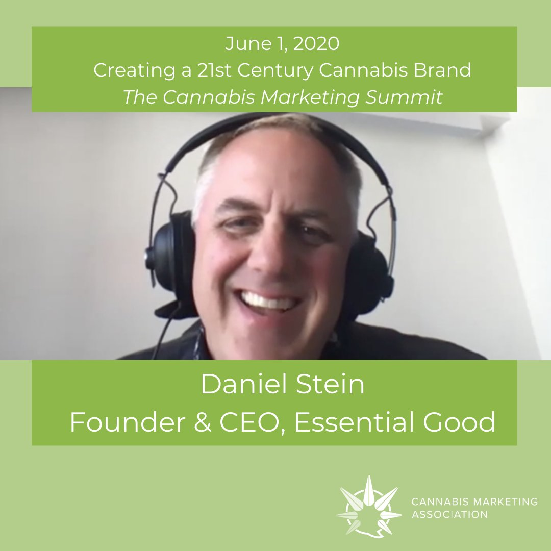 """""""The right time to think about building your brand is EARLY AND ALWAYS"""" - @danielstein  To watch this session or find out more about our membership options, visit us on our website!  https:// thecannabismarketingassociation.com /     #MarketingWebinar #CannabisWebinar #CannabisMarketing <br>http://pic.twitter.com/NZ4fUONOLs"""
