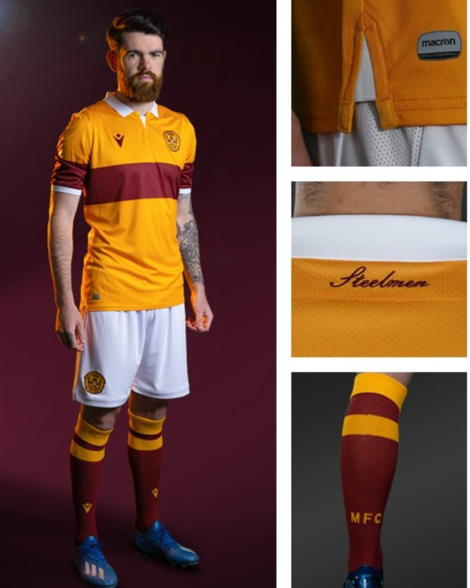 Football Fashion On Twitter Motherwell Fc 2020 21 Macron Home Kit Https T Co Jxq5gjwqdd Motherwellfc Spfl Macron Macronsports Uel