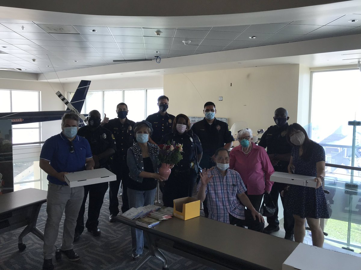Thank you Susie and @OperationCare for the pizza and praying for us today. We appreciate your act of kindness.