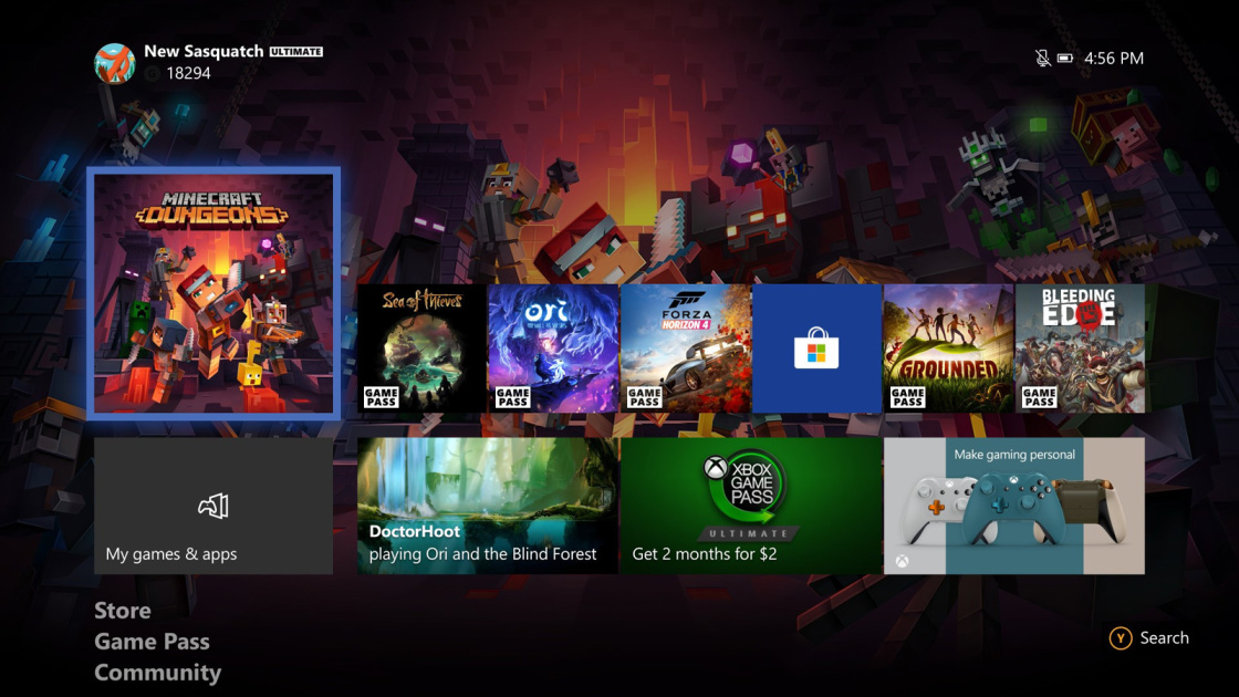 Xbox One update streamlines your game library management