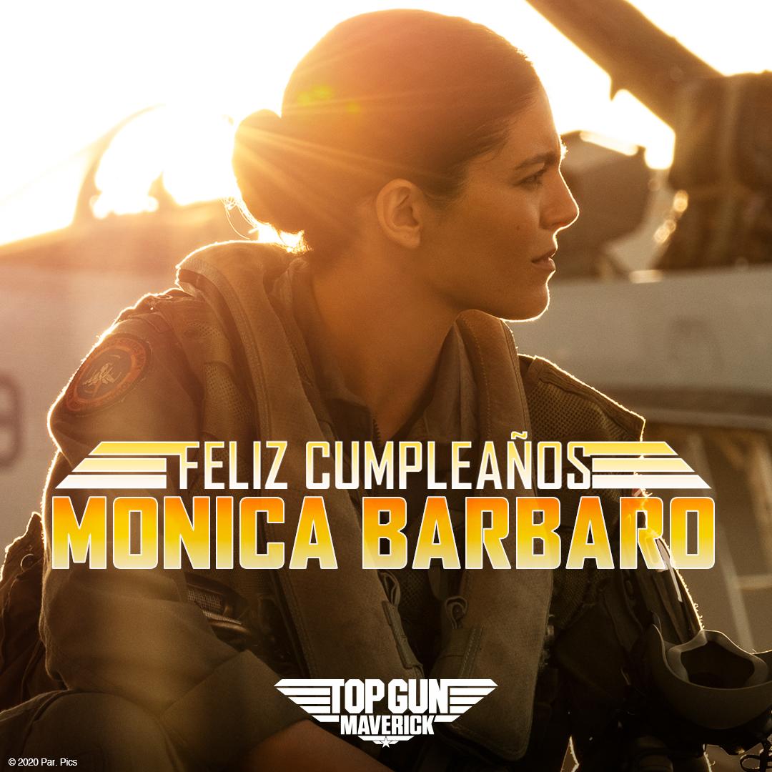 "¡Le deseamos a Monica Barbaro ""Phoenix"" en #TopGunMaverick un feliz cumpleaños! https://t.co/PZnzML6CQv"