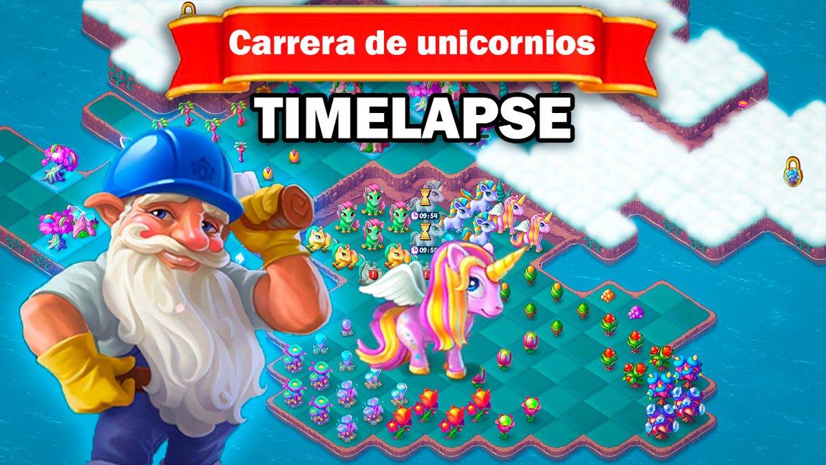 EVERMERGE ▶ Carrera De Unicornios EVENT | Gameplay Walkthrough (IOS, AND... https://t.co/Xu8tzIbg5l a través de @YouTube   #EVERMERGE #GAMEPLAY #TIMELAPSE #CARRERA #UNICORNIOS #YOUTUBE #FOLLOME #WALKTHROUGH #ANDROID #IOS https://t.co/FuECAaIcGm