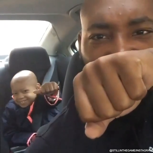 Never forget this special moment when former NFL player Devon Still would give his daughter Leah a pep talk before her cancer treatment. Leah has been cancer free for 5 years now 🙌👏 (via @Dev_Still71)