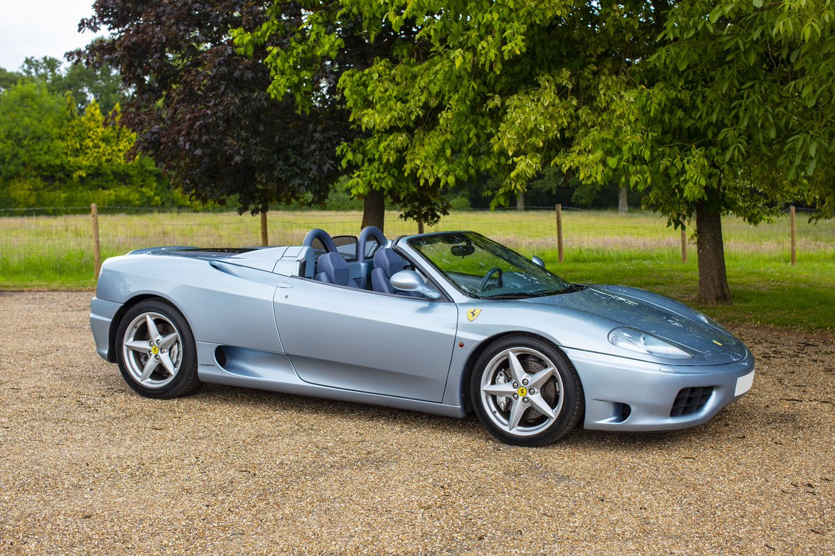 Private Motor Club On Twitter 2004 Ferrari 360 F1 Spider Lhd 12k Miles Grigio Alloy Lovely Spec Totally Standard Had Belts And Service In 2018 With Joe Macari Service In 2019 At