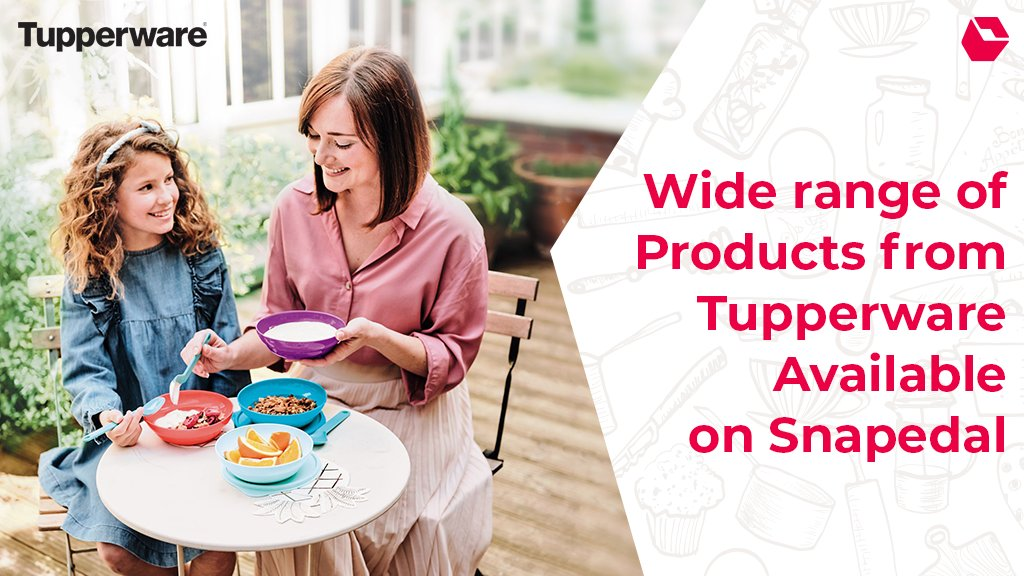 Shop your favourite @TupperwareIN product at Snapdeal. Visit: https://t.co/brBNtwVLEL  #ShopFromYourHome #StaySafe https://t.co/qCPw1poMuM