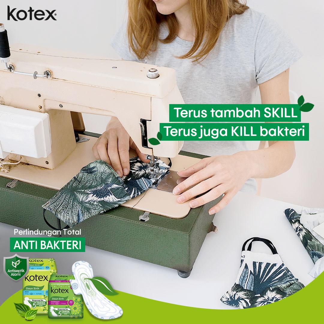 Udah buat masker supaya tetap higienis,  jangan lupa juga selalu jaga kebersihan area kewanitaan saat menstruasi dengan Kotex Daun Sirih yaa!   #KotexDuniaCewe #PerlindunganTotalAntiBakteri https://t.co/cjfinZ1pkc