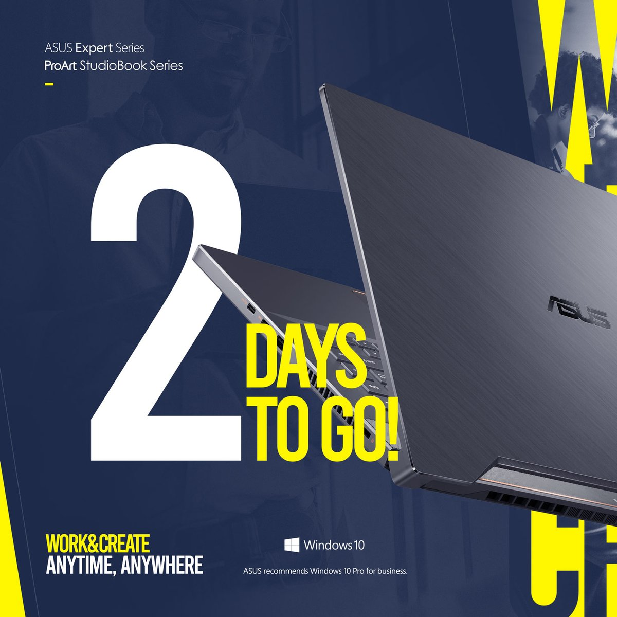 We are ready to Power Up your Imagination this June 19!  Be updated about the upcoming ASUS Expert Series and ASUS ProArt StudioBook series launch here: https://t.co/Ds43hTWDob  #ASUSWorkAnytimeAnywhere #ASUSCreateAnytimeAnywhere #ASUSExpertBookB9 #ASUSProArtStudiobook https://t.co/aNwNp4cccZ