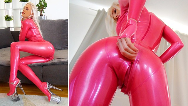 Pink Latex Catsuit Bitch fucked hard just sold again on Modelhub: https://t.co/gfyFPmuTI9 https://t.