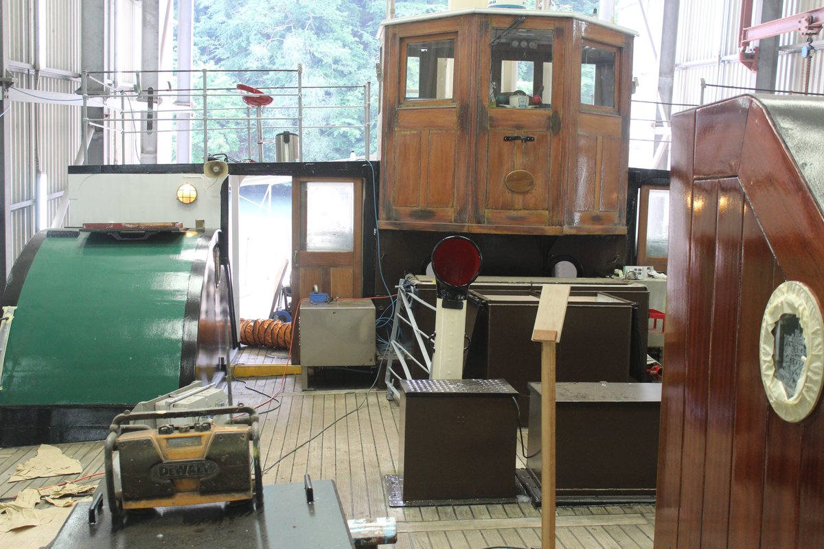 Work has started again on completing Kingswear Castles refit and we are cautiously optimistic that she will be back in service again in July subject to Government guidelines. Keep watching this space for further news.