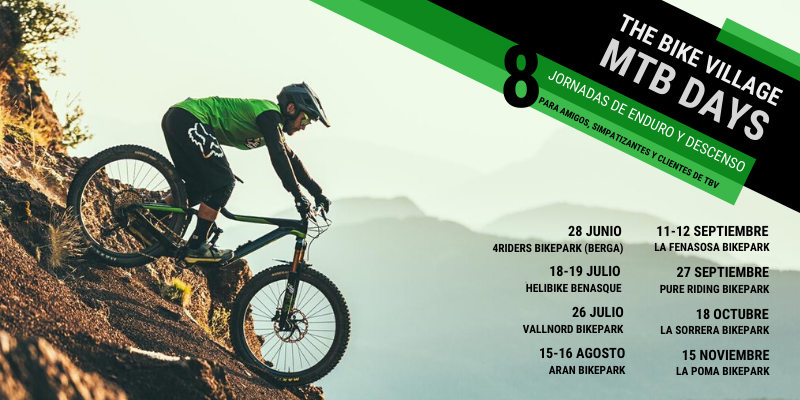 Llegan los The Bike Village MTB Days -8 salidas a diferentes bikeparks nacionales para disfrutar con tu bici de enduro o descenso en compañía del equipo de The Bike Village.https://mailchi.mp/b32455dc1659/llegan-los-the-bike-village-mtb-days …pic.twitter.com/0j4HZ0BzdM