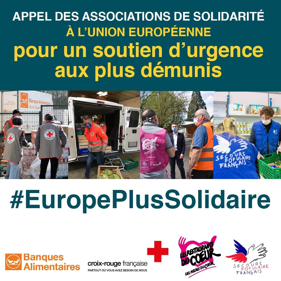 Nous lançons avec de nbx partenaires européens un appel aux institutions européennes et aux Chefs d'Etat et de Gouvernement pour que la lutte contre la pauvreté soit une priorité de l'Union Européenne, la crise frappe durement les plus démunis !  #EuropePlusSolidaire