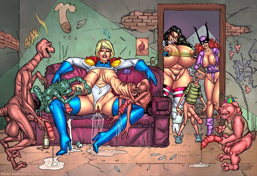 Hardcore Erotic Comix