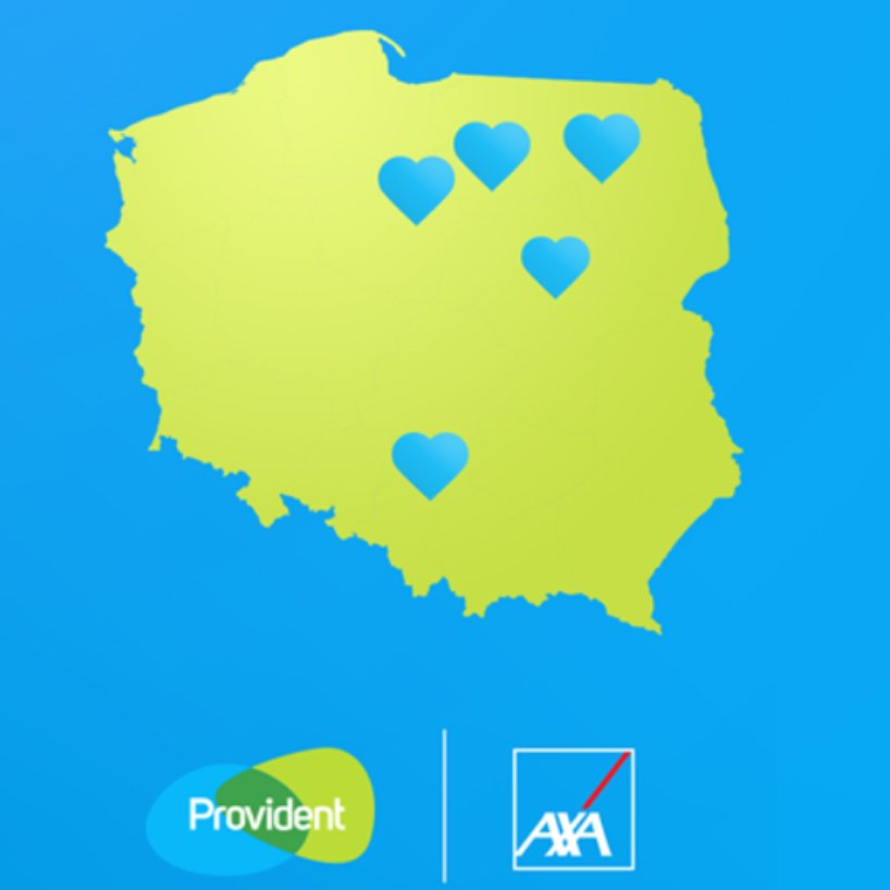 Provident in Poland is our #IPFCareHero! @Provident_Pl and @AXAPolska supported hospitals in 5 small Polish towns with a donation for the purchase of medical equipment. They used the funds primarily devoted for their mutual project – travelling cinema. #IPFTogetherWeCare https://t.co/Ti9UjX1JVj