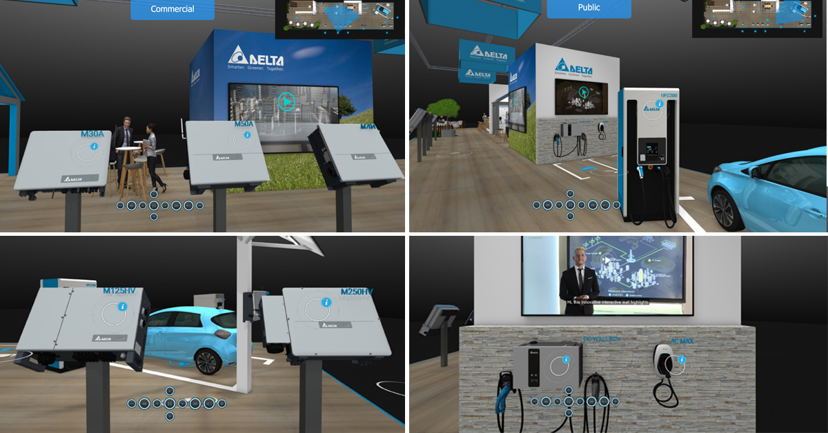 The @Intersolar 2020/ @the_smarter_E would have opened its doors today but everything is different this year, that's why we will go #virtual to showcase the latest product innovations for #solar, #emobility and in general the #renewableenergy sector! virtual.delta-emea.com/en/index.htm
