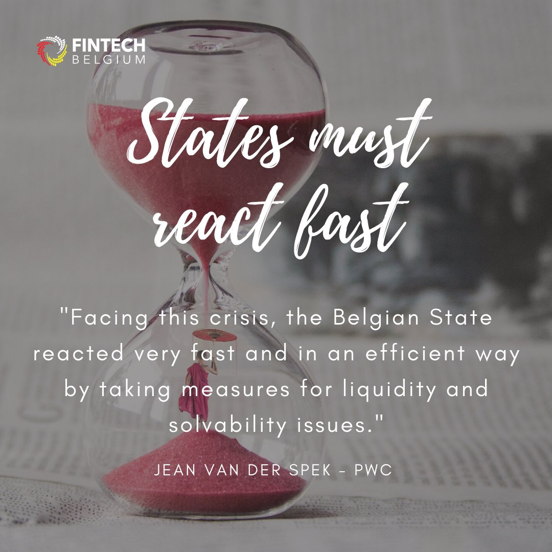 - QUOTE OF THE DAY - By Jean Van der Spekfrom @PwC_Belgium, during our 9th #webinar session on Post-Covid #Financials.  Our next webinar is this Friday, June 19th and we will focus on #Bankruptcy! Register now!  https://t.co/AmzeiAOG4p https://t.co/O571VKe0qc