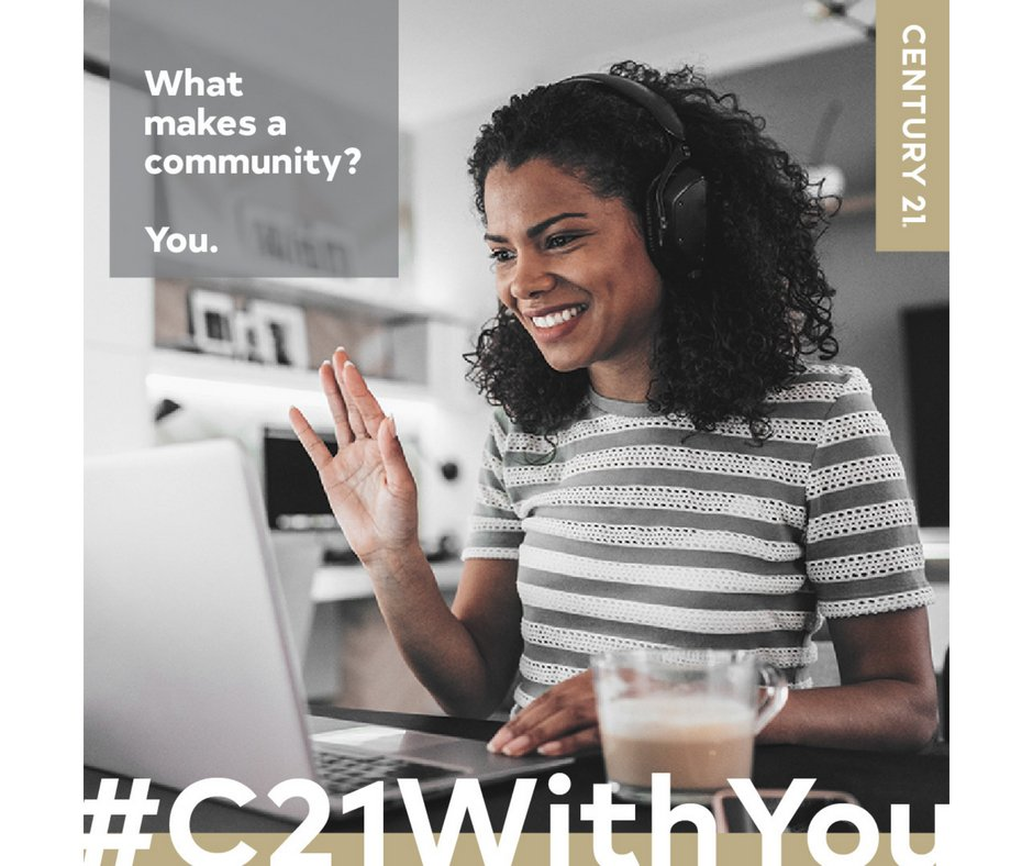 What makes a community? You do. We understand what it takes to make dreams a reality...life in community!! Surround yourself with people that support you, encourage you and keep you accountable to your goals! #community #realesateaccountability #c21withyou #lifeincommunity https://t.co/8GUiIZxe12