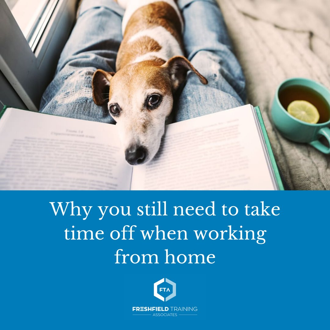 Taking breaks and days off can feel strange when so many of us are working from home. But here's why you need to do it—and how.  Read more: https://t.co/oUqP9ys4zn https://t.co/MRfeRmVKaU