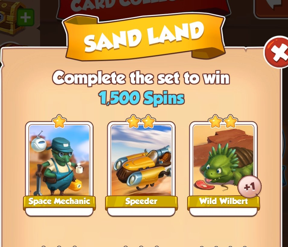 Chance to win 1500 Spins (Sand Land) #CoinMaster #CoinMasterSpins #CoinMasterGameplay https://t.co/hAcxEyZfDx