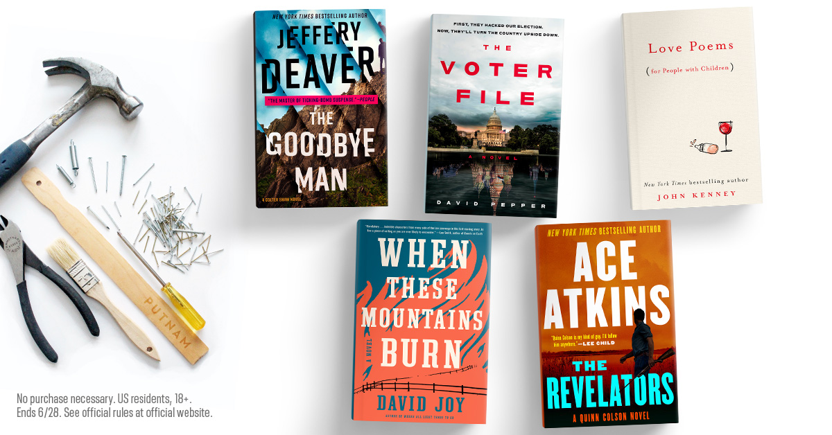 Father's Day is this Sunday! Enter for your chance to win this bundle of books perfect for sharing with dad: https://t.co/qeUUGhSZzY (US only; now until 6/28) https://t.co/TUSwzRP0PN